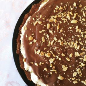 Svaðaleg Snickers-kaka