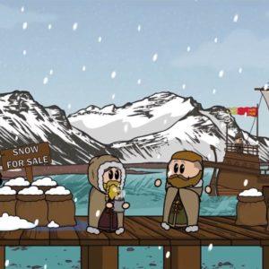 Bjó til sína eigin teiknimynd um sögu Íslands