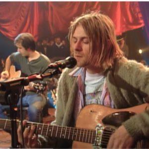 Gítar Kurt Cobain til sölu