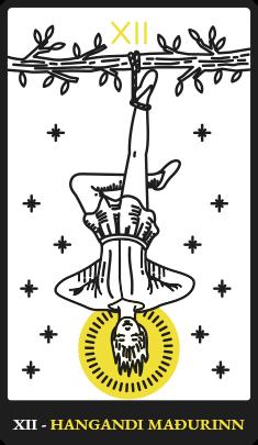 XII – Hangandi maðurinn