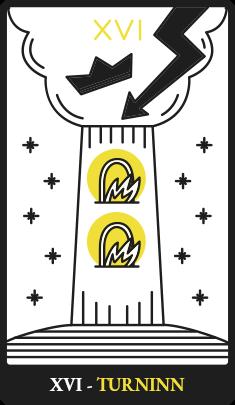 XVI – Turninn