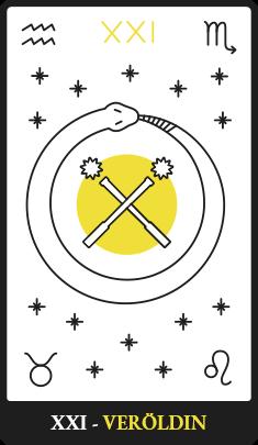 XXI – Veröldin