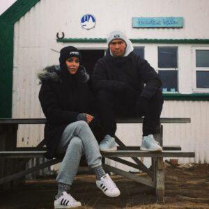 Katrín og Stefán létu læsa sig inni í Höfða í 12 klukkustundir