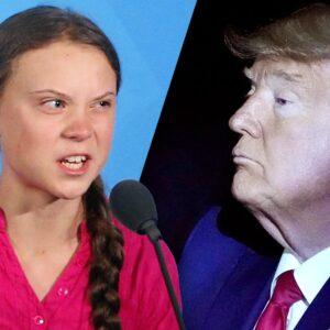 Greta Thunberg felldi Donald Trump á eigin bragði